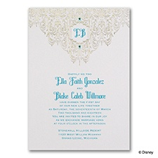 Bohemian Chic - Jasmine - Invitation