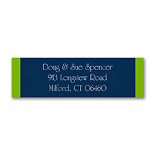 Color Block - Address Label