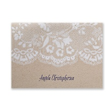 Antique Lace - Note Folder